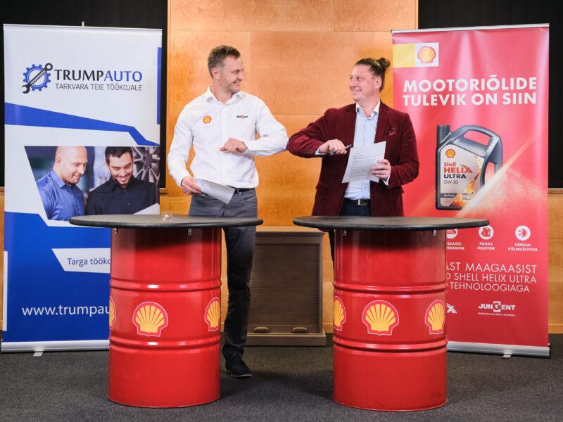 Trumpauto OÜ sõlmis Jungent Estonia OÜ-ga koostöölepingu, mis võimaldab Shell Helix autoteenindustel kasutada Trumpauto tarkvara.