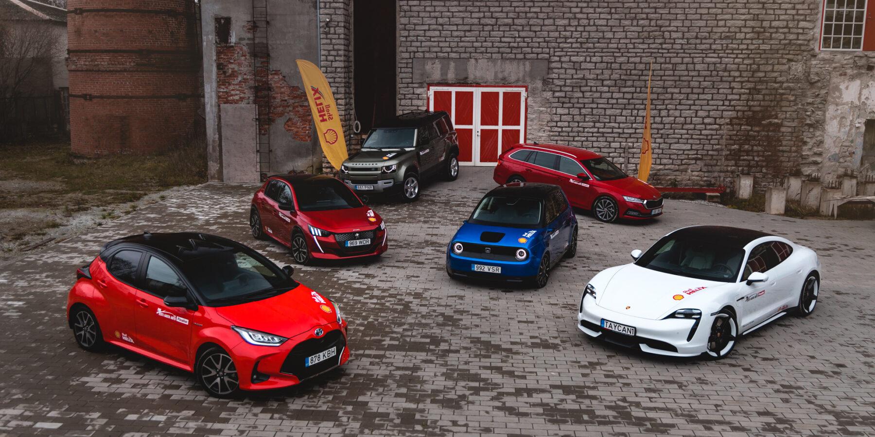 Eesti Aasta Auto 2021 finalistid